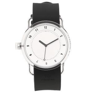 ティッドウォッチ 腕時計 メンズ/レディース TID03-WH/BK クリア ホワイト ブラック TID Watches 1andone