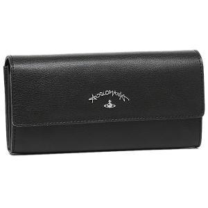 ヴィヴィアンウエストウッド 長財布 レディース VIVIENNE WESTWOOD 390027 ブラック|1andone