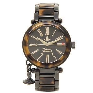 ヴィヴィアンウエストウッド 腕時計 レディース VIVIENNE WESTWOOD VV006BKBR ブラック ブラウン 1andone