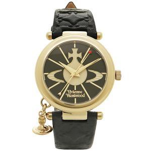 ヴィヴィアンウエストウッド 腕時計 VIVIENNE WESTWOOD VV006BKGD ORB II レディースウォッチ ブラック/ゴールド 1andone