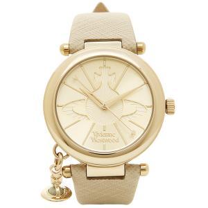 ヴィヴィアンウエストウッド 腕時計 レディース VIVIENNE WESTWOOD VV006GDCM クリーム ゴールド シルバー|1andone