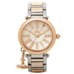 ヴィヴィアンウエストウッド 時計 レディース VIVIENNE WESTWOOD VV006PRSSL MOTHERORB 腕時計 ウォッチ ホワイトパール/ピンクゴールド/シルバー|1andone