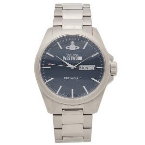 ヴィヴィアンウエストウッド 腕時計 メンズ VIVIENNE WESTWOOD VV063NVSL シルバー ブルー 1andone