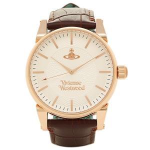 ヴィヴィアンウエストウッド メンズ腕時計 VIVIENNE WESTWOOD VV065RSBR シルバー ピンクゴールド ブラウン 1andone