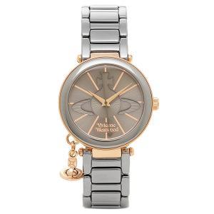 ヴィヴィアンウエストウッド レディース腕時計 VIVIENNE WESTWOOD VV067SLTI ガンメタ ローズゴールド|1andone