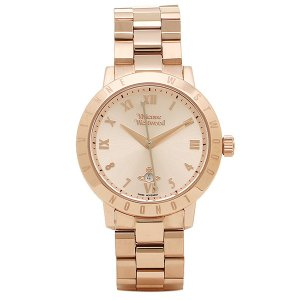 ヴィヴィアンウエストウッド 腕時計 レディース VIVIENNE WESTWOOD VV152RSRS ホワイト ローズゴールド|1andone