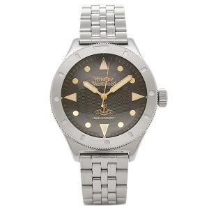 ヴィヴィアンウエストウッド メンズ腕時計 VIVIENNE WESTWOOD VV160BKSL ブラック シルバー|1andone