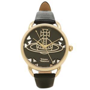 ヴィヴィアンウエストウッド レディース腕時計 VIVIENNE WESTWOOD VV163BKBK ブラック ゴールド 1andone