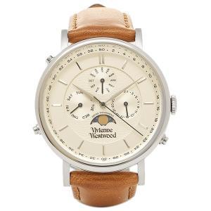 ヴィヴィアンウエストウッド メンズ腕時計 VIVIENNE WESTWOOD VV164SLTN ホワイト ゴールド ブラウン 1andone