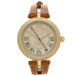 ヴィヴィアンウエストウッド 腕時計 レディース VIVIENNE WESTWOOD VV168GYTN イエローゴールド ブラウン 1andone