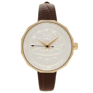 ヴィヴィアンウエストウッド 腕時計 レディース VIVIENNE WESTWOOD VV171GDBR ブラウン ホワイト イエローゴールド|1andone