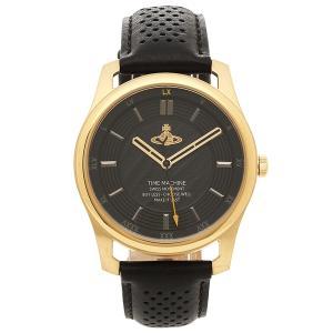 ヴィヴィアンウエストウッド 腕時計 メンズ VIVIENNE WESTWOOD VV185GDBK ブラック イエローゴールド|1andone