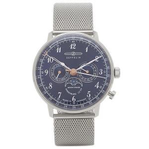 ツェッペリン 腕時計 ZEPPELIN 7036M3 ネイビー シルバー|1andone