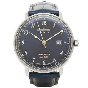 ツェッペリン 腕時計 ZEPPELIN 7046-3N ネイビー シルバー|1andone