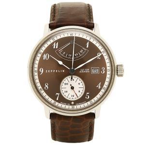 ツェッペリン 時計 メンズ ZEPPELIN 70605 LZ129 ヒンデンブルグ 自動巻 腕時計 ウォッチ ブラウン/ブラウン|1andone