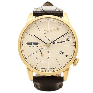 ツェッペリン 腕時計 ZEPPELIN 73685 ゴールド ブラウン|1andone