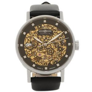 ツェッペリン 腕時計 ZEPPELIN 74612  ブラック シルバー|1andone