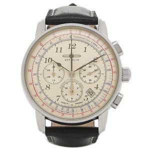 ツェッペリン 腕時計 ZEPPELIN 7624-4-BLK           アイボリー|1andone