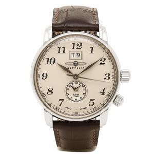 ツェッペリン 時計 メンズ ZEPPELIN 76445N LZ127GRAF クォーツ 腕時計 ウォッチ ブラウン/ホワイト|1andone