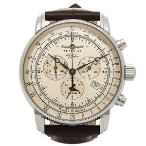 ツェッペリン 時計 メンズ ZEPPELIN 76801N SPECIAL EDITION100YEARS クォーツ 腕時計 ウォッチ ブラウン/シルバー|1andone