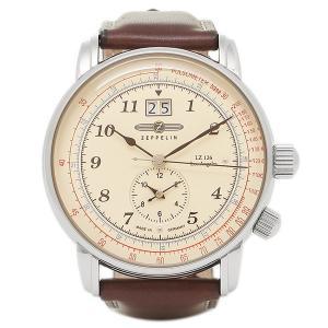 ツェッペリン 腕時計 ZEPPELIN 86445  シルバー ブラウン|1andone