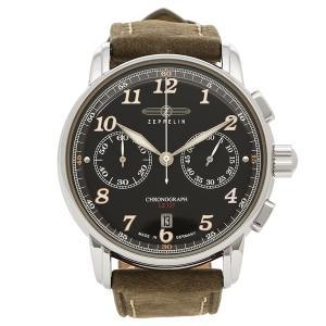 ツェッペリン 腕時計 メンズ ZEPPELIN 8678-2 ブラウン ブラック|1andone