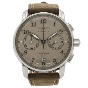 ツェッペリン 腕時計 メンズ ZEPPELIN 8678-4 ブラウン アイボリー|1andone