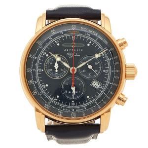 ツェッペリン 腕時計 メンズ ZEPPELIN 8682-3 ネイビー イエローゴールド|1andone