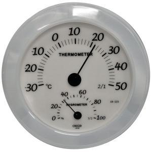 家庭用 温度・湿度計 CR223WD|1ban-otoku