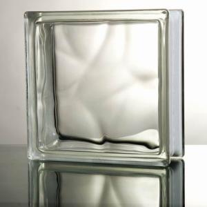 6個セット 送料無料 ガラスブロック 世界で有名なブランド品 厚み80mmクリア色雲・クラウディ gb2680-6pの商品画像|ナビ