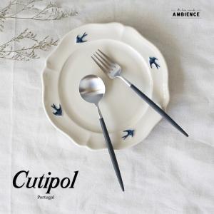 cutipol goa クチポール ゴア デザートスプーン&フォーク メール便対応|1em-rue