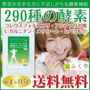 ダイエット サプリ ダイエットサプリメント 290種の酵素配...