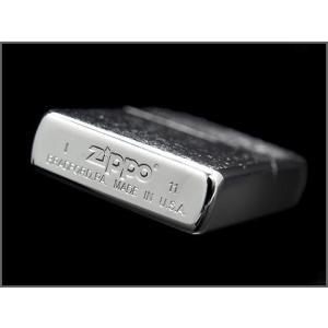 ZIPPO ジッポオイルライター シルバークロームフィニッシュ ブラッシュ 200FB ネコポス可|1more|03