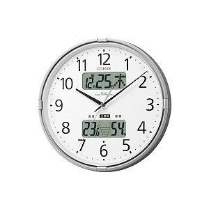 電波掛時計 インフォームナビF 4FY618-019 ネコポス不可|1more