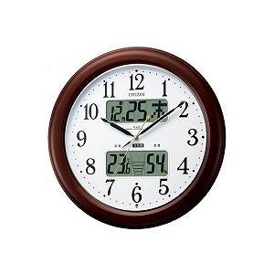 電波掛時計 インフォームナビEX 4FY620-006 ネコポス不可|1more