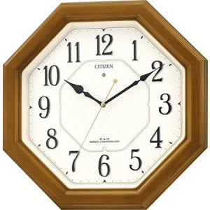 電波掛時計 スタンダード ネムリーナルック 4MY645-006 ネコポス不可|1more