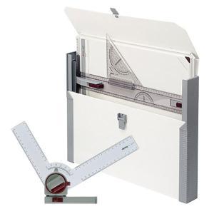 ロットリング ラピッドボード プロセット A3 5234032PRO 製図ボード 三角スケール付き 定規 三角定規|1more