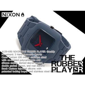 ニクソン NIXON ニクソン 腕時計 A139690 ラバープレイヤー ニクソン メンズ NIXON ニクソン ネコポス不可|1more|02
