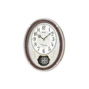 SEIKO CLOCK セイコー SEIKO からくり時計 電波時計 掛け時計 AM259B|1more