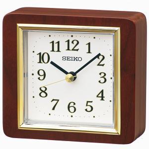 SEIKO セイコークロック   ブラウン  置時計  BZ363B|1more