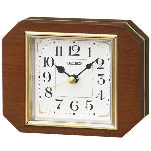 SEIKO セイコークロック   ブラウン  置時計  BZ364B|1more