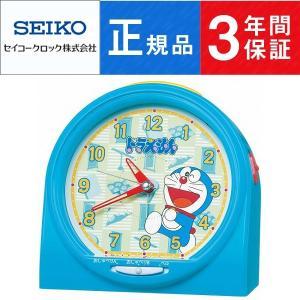 SEIKO CLOCK セイコー クロック キャラクタークロック ドラえもん おしゃべり目覚まし時計 CQ137L|1more