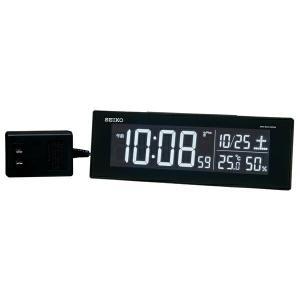 SEIKO CLOCK セイコークロック 電波時計 置時計 デジタル DL305K|1more