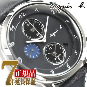 de948e2f30 agnes b. アニエスベー ソーラー 腕時計 メンズ マルチェロ クロノグラフ レザー FBRD972