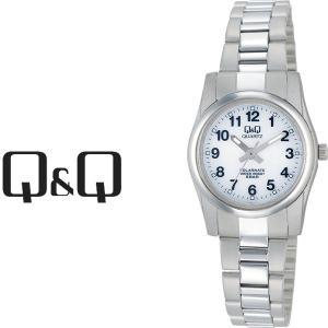 【ネコポス配送で送料無料】シチズン CITIZEN Q&Q キューキュー SOLARMATE ソーラーメイト スタンダード ペアモデル ソーラー レディース 腕時計 H971-204|1more