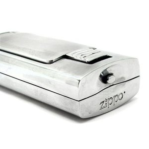 ZIPPO ジッポ 携帯灰皿 シルバー ポリッシュ HA-15-P ネコポス不可 1more 03