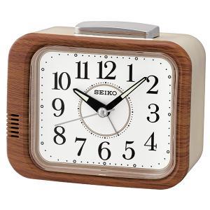 SEIKO セイコークロック   茶木目  置時計  KR509B|1more