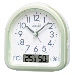 SEIKO セイコークロック   ホワイト  目覚まし時計  KR512M|1more