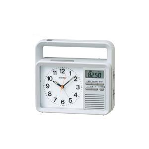 セイコー SEIKO クオーツ 目覚まし時計 充電つき防災クロック 商品仕様:(約)154x170x...