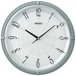 SEIKO セイコークロック   ホワイト  掛時計  KX257L|1more